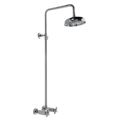 Traditional Chrome Thermostatic Mixer Shower Kit